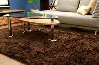 L-DUE(エル-デュエ)ローテーブル カラー:ブラウン