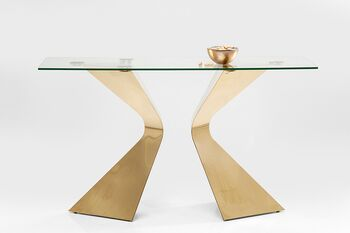 KARE(カレ)82379 Console Table Gloria Gold コンソールテーブル