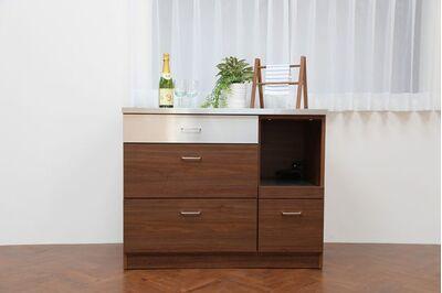 LUCIDO(ルシード)キッチンカウンター 1枚目画像 サイズ:105サイズ