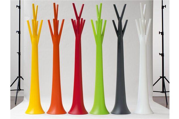 BONALDO(ボナルド) TREE コートハンガー カラー(左から):イエロー/オレンジ/レッド/グリーン/アントラシートグレー/ホワイト