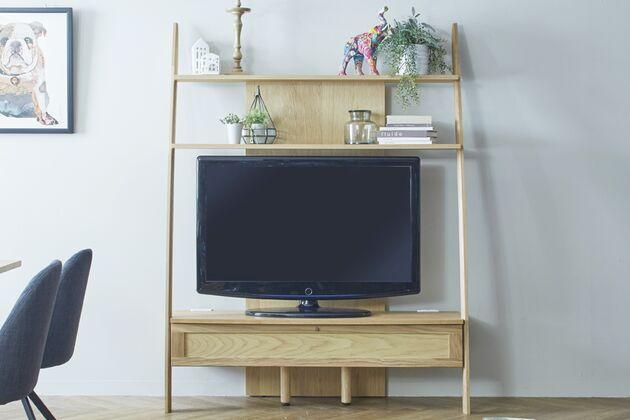 STREAM テレビボード サイズ:135TV/ツマミ:仙徳/素材:オーク