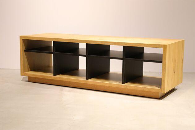 CUDDLE(カドル)ローテーブル カラー:OAK/サイズ:W124