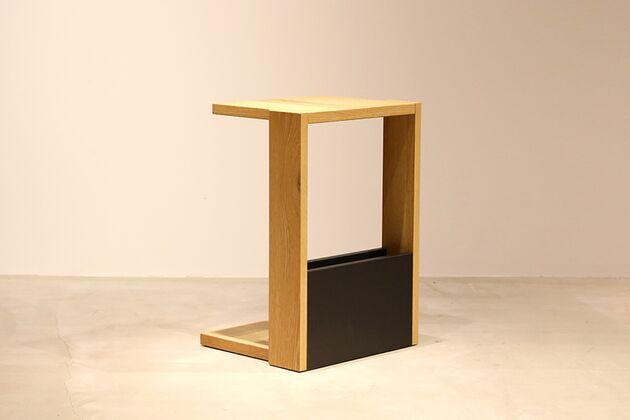 CUDDLE(カドル) サイドテーブル カラー:OAK