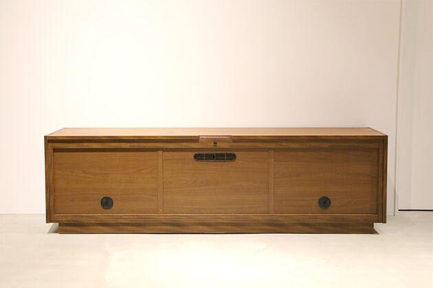 CUDDLE(カドル) テレビボード テレビボード背面 カラ-:WN/サイズ:150