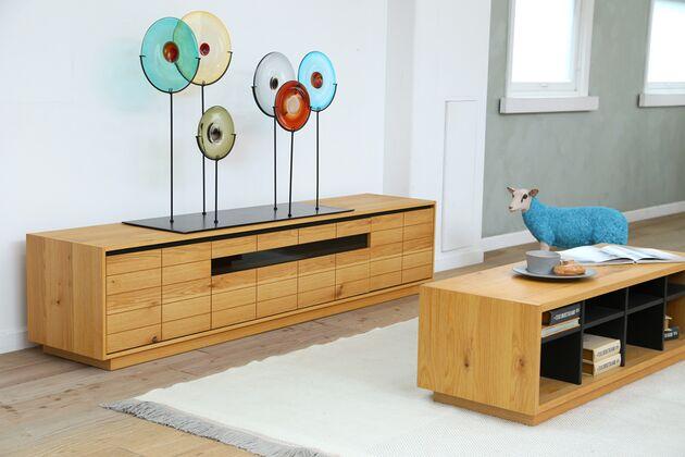 CUDDLE(カドル) テレビボード カラー:OAK/サイズ:W200