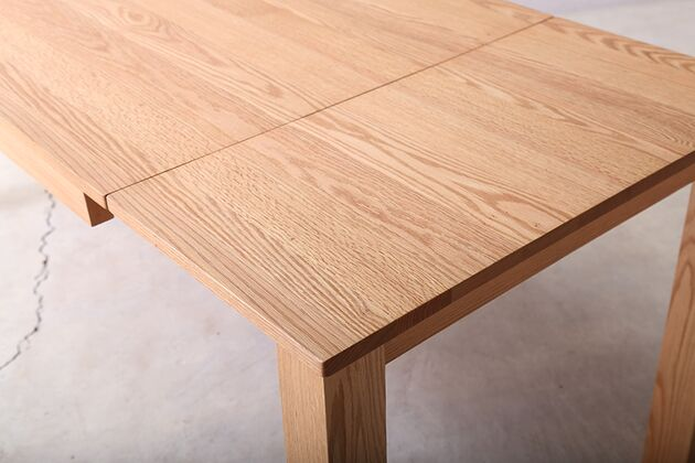 SE 伸長式無垢材ダイニングテーブル