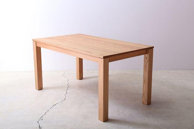 SE 伸長式無垢材ダイニングテーブル カラー:OAK(W1400)