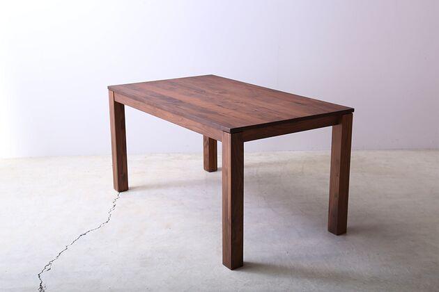 SE 伸長式無垢材ダイニングテーブル カラー:WN(W1400)