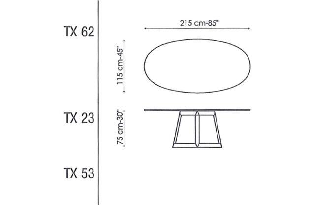 BONALDO(ボナルド) Greeny ダイニングテーブル