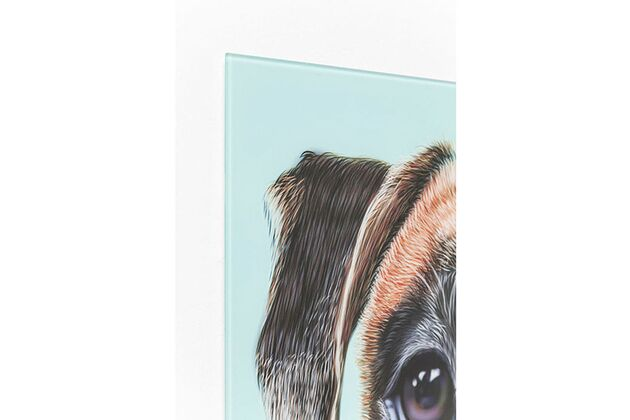 【SALE】KARE(カレ) 60397 Picture Glass Dog Face 60x60cm アート