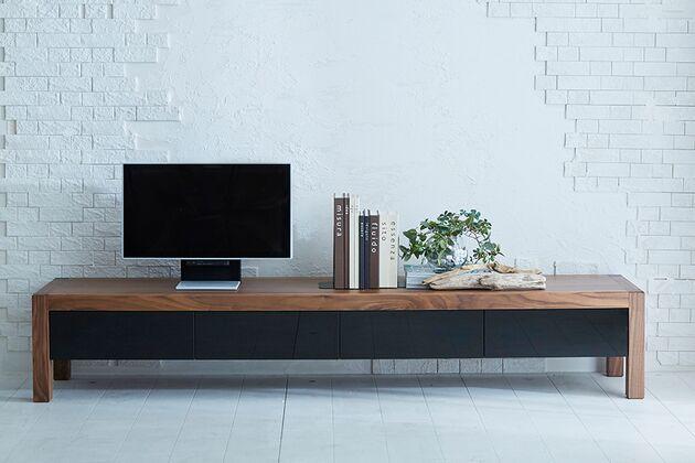 TRUNK(トランク)テレビボード 1枚目画像 WN(ウォールナット)×200cm