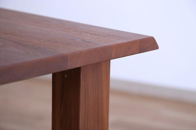 MEISTER(マイスター)ダイニングテーブル 天板厚:27mm ウォールナット