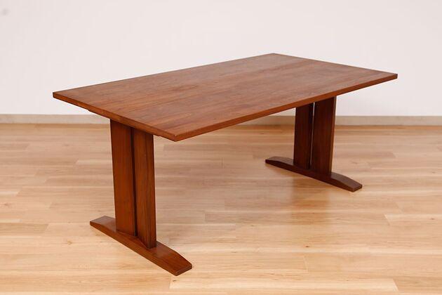 WEBB(ウェッブ)ローダイニングテーブル(WN) サイズ:W1500×D850×H650 ウォルナット材オイル塗装