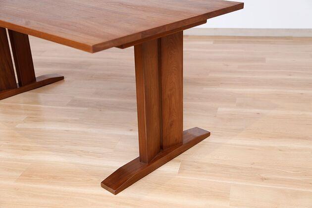 WEBB(ウェッブ)ローダイニングテーブル(WN) 脚の形状は5種類よりお選びいただけます