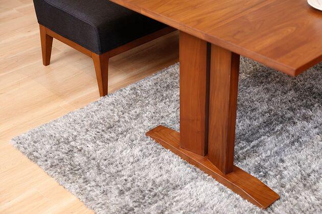 WEBB(ウェッブ)ローダイニングテーブル(WN) 重厚感のある定番脚