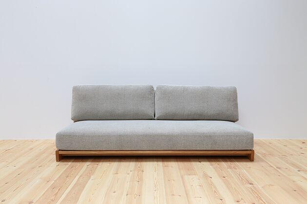 WEBB(ウェッブ)2.5Pソファ スッキリとしたシンプルなデザインでお部屋に圧迫感を与えません。