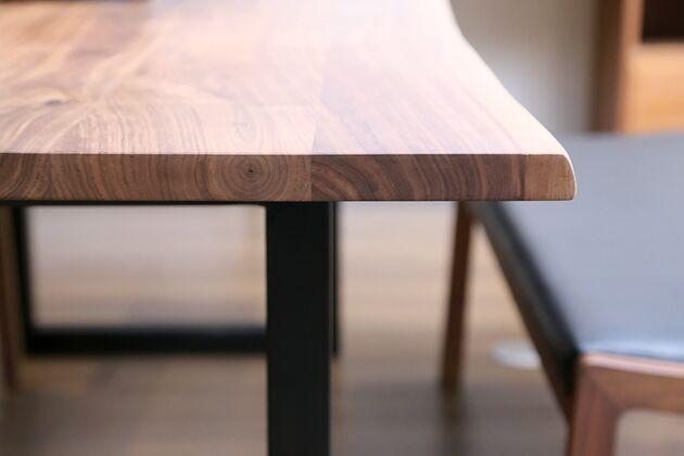 at will(アットウィル)ダイニングテーブル(耳付き)[200×90×72cm] 天板厚は30mmあります