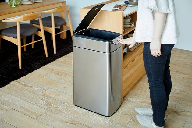 【simple human】40liter slim touch-bar trash can ダストボックス