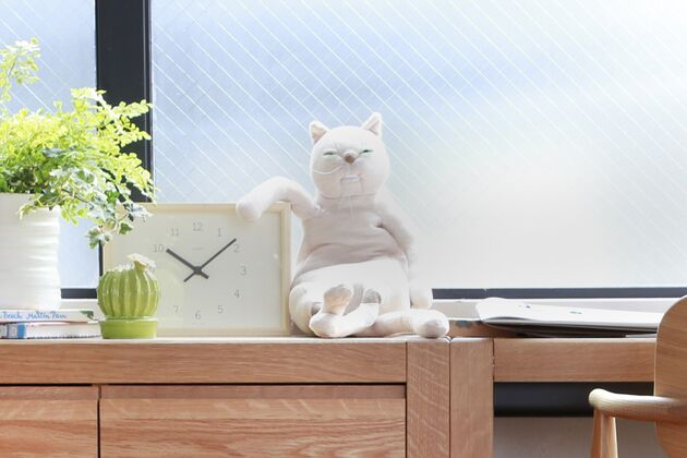 猫ぬいぐるみ カラー:ベージュ