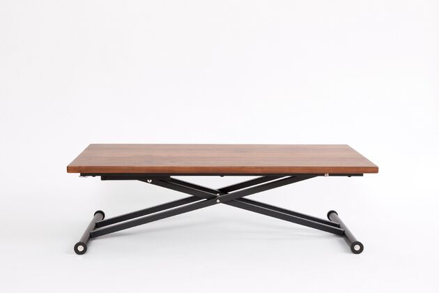 SL 昇降式リビングテーブル ウォールナット