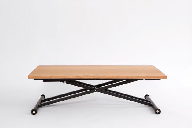SL 昇降式リビングテーブル オーク