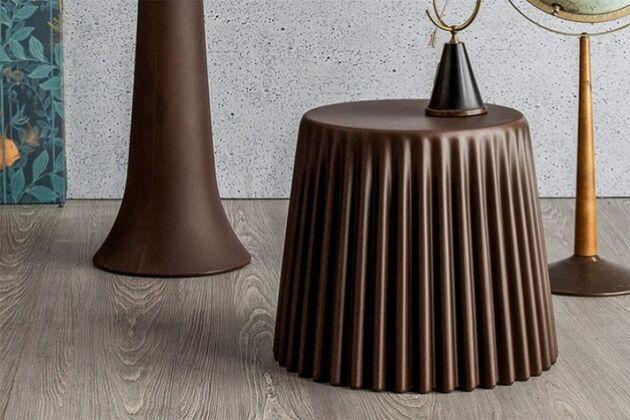 MUFFIN サイドテーブル 本体カラー ブロンズ