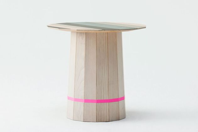 KARIMOKU NEW STANDARD (カリモクニュースタンダード) COLOUR WOODローテーブル カラーグリッド