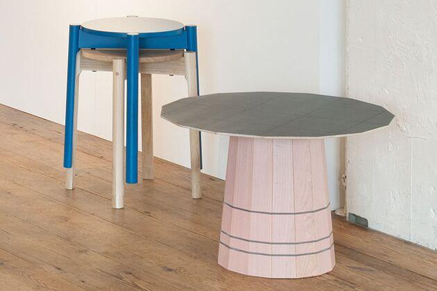 KARIMOKU NEW STANDARD (カリモクニュースタンダード) COLOUR WOODローテーブル