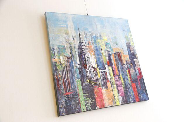 ニューヨーク 80×80cm