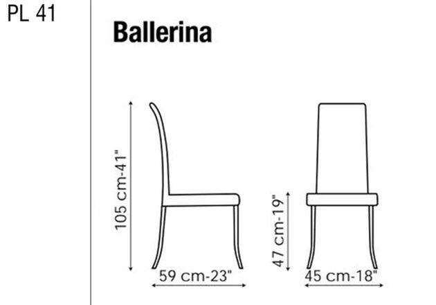 BONALDO(ボナルド) Ballerina ダイニングチェア