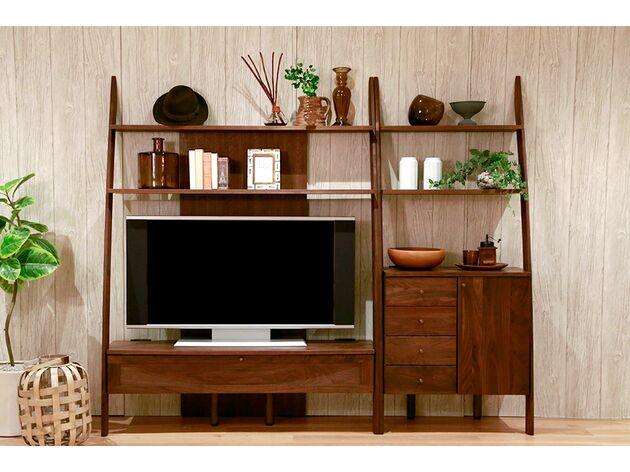 STREAM テレビボード 1枚目画像 サイズ:135TV/ツマミ:木製/素材:ウォールナット
