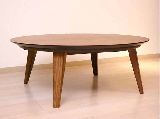 ファーブル こたつテーブル 素材:ウォールナット