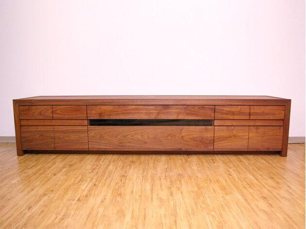 厳選木材のテレビボード サイズ:幅200cm