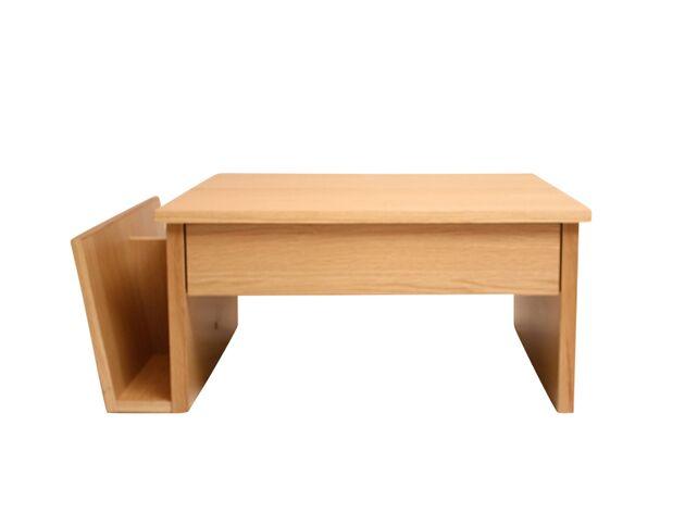 昇降式リビングテーブル カラー:ナチュラル