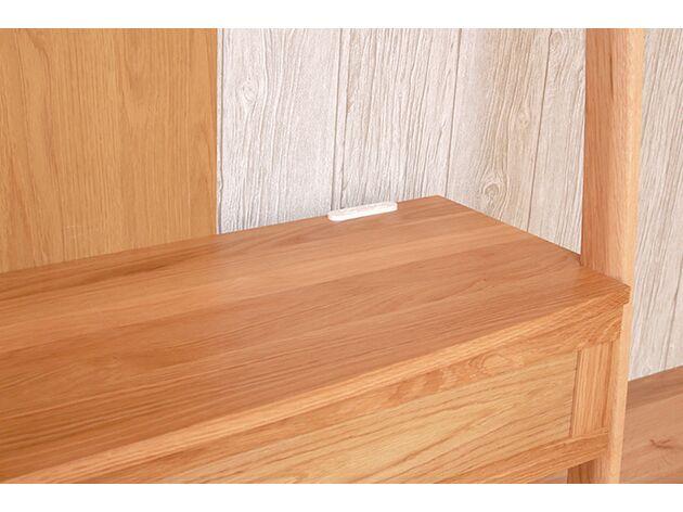 STREAM テレビボード 電源穴をご用意、ケーブルもスッキリと収まります。