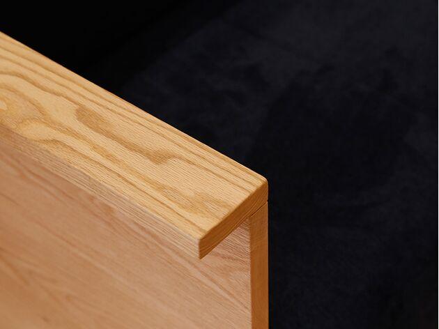 HIRASHIMA(ヒラシマ)CARAMELLA(カラメッラ) カウンターソファ210 腕をかけやすいアーム部分