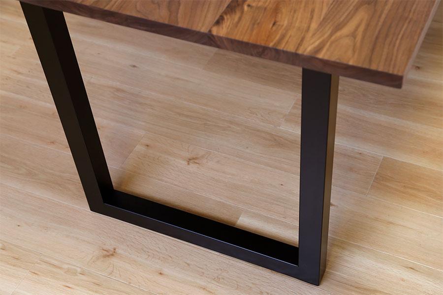 at will(アットウィル)ダイニングテーブル(耳付き)[200×90×72cm]